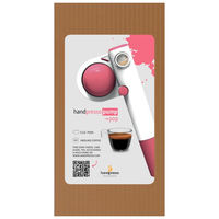 Manual espresso machine - E.S.E pods and ground coffee - Pink