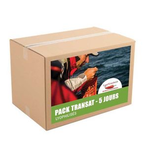 5-day pack - Freeze dried meals without snack - Sea trip