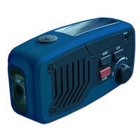 Panther multi-functional Solar-powered/wind up Radio