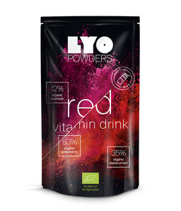 Organic red drink - Vitamin