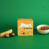 Mealworms - Comté cheese taste and nutmeg