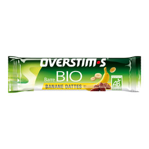 Overstim.s organic energy bar - Banana, dates