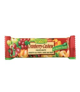 Organic Bar cranberries and cashew nuts